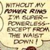 Super-powerless!