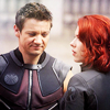 lizardbeth: Avengers - Clint and Natasha
