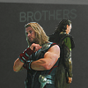 lizardbeth: Avengers - Thor and Loki Brothers
