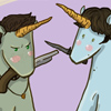 SPN Sam Dean Unicorns