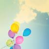 Diana ♥: [Stock] balloons | blue sky