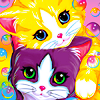 Lisa Frank kitties