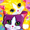 Lisa Frank kitties