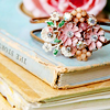 pretty things - books & broach