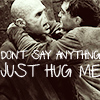 Lane ZQ: voldy hugs harry