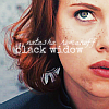 inkvoices: avengers:natasha romanoff is black widow