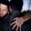 Dusty: SPN. Cas hugs Dean