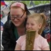 The Child and I with the torch