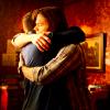 Hugging boys