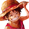 little luffy - pleased