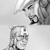 Avengers - Captain-IronMan Comic