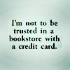 Jo Ann: Reading: Bookstore w credit card