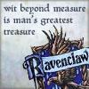 una vecchia barbogia: Ravenclaw