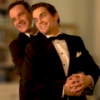 sinfulslasher: white collar neal + peter bts prom pic