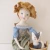 Тихая сказка, антикварная кукла, куклы и игрушки ручной работы, авторская кукла.