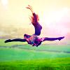 happiness, jump, yay!
