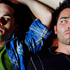 Teen Wolf-Sterek colorful on the floor