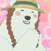 Polar Bear (Braids)