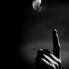 палец с абочкой