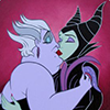 Disney (Ursula & Maleficent Kissing)