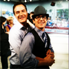 sinfulslasher: white collar tim + matty squishy