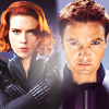 sugar_fey: avengers: hawkeye/black widow lookin' ba
