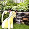 Garden Fancy Cat