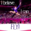 Gymnastics - Aly Raisman - Fly