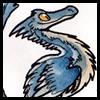 Feathery dinosaur