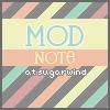 SUGARWIND - MOD NOTE