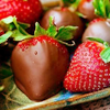 Stacie: chocolate strawberries