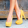 Muppet: Stock: shoes | yellow
