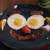 one tree hill: smiley face breakfast