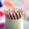 Christina: colored pencils