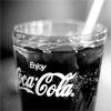 Christina: coke black and white
