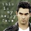 Derek - happy face