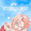 perfect blue skies ~ Sakura > Naruto