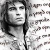 gowarily: Arthur - italic background