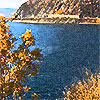 Байкал. жёлтое. гора