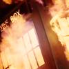 tardis burning
