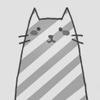 полосатый котэ