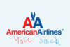 YOU SUCK!, American Airlines