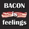Bacon feels -