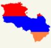 Հայաստանի դրոշ-քարտեզ