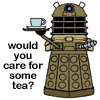 Dalek - would you care for some tea