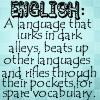 Tanya Reed: English