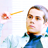 teen wolf | stiles | hold pencil