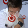 Xaveria: JR hugTarget dog