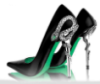 gorgeousbowneyes: Slytherin Heels