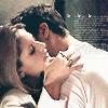 Angel at Buffy's neck